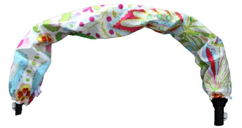 Babychic Designs pram handle bar cover - Rainbow garden