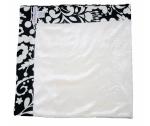 Babychic Designs Bamboo Velour Pram Blanket - Liquorice Swirl