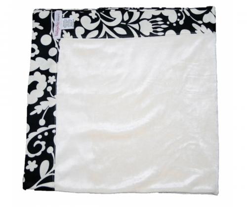 Babychic Designs Bamboo Velour Pram Blanket - Licorice Swirl
