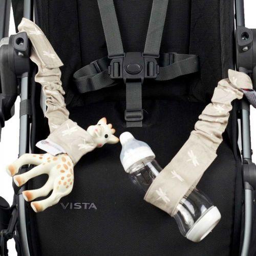 Babychic Designs Pram Toy Straps - Dragonfly