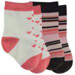 Coral BabyLegs Socks - 2 Pair Pack