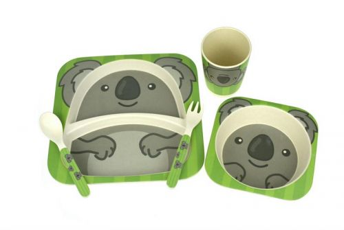 Bamboozoo Dinnerwear Set Koala