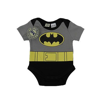 Batman Short Sleeve Baby Bodysuit/costume