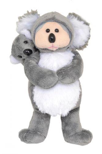 Gumnut and Eucy Koalas - Mum and Baby Beanie Kid