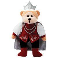 Prince Emmanuel the Groom Bear - Beanie Kids
