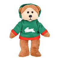 The South Sydney Rabbitohs Bear Born & Bred- Daniel Hoodie Beanie Kids