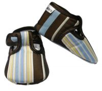 Baby Bella Maya Baby Shoes - Beary Blue Stripe