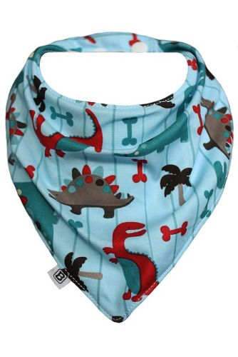 Bibska Bib - Dino Park- Dribble/Bandana Bib (Last one available)