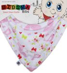Bibska Bib - Flutterby Butterfly Kisses - Dribble Bib