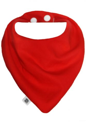 Bibska Bib - Fire Engine Red Dribble/Bandana Bib