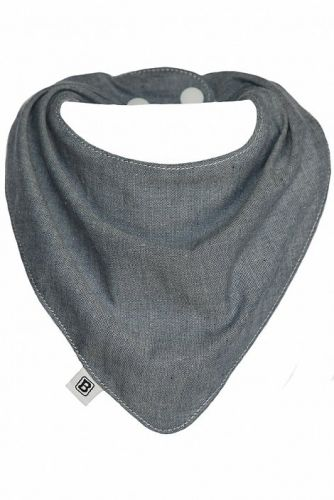 Bibska Bib - Denim Baby - Dribble/Bandana Bib - Limited Edition