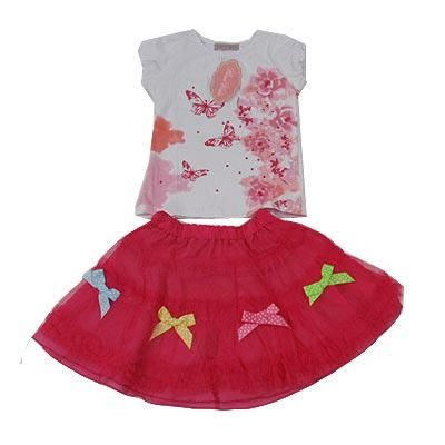 Butterfly and Bow Tutu Set (Last sizes left 5 & 6)