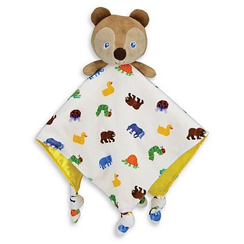The World of Eric Carle - Brown Bear Baby Comforter - Baby Blankie
