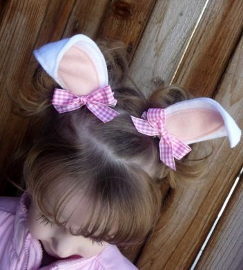 Easter Hair Clips