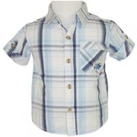 Grasshopper Checked Shirt  (Sizes 00 to 2) by Candy Stripes