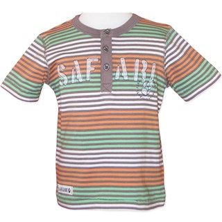 Cotton Safari T-Shirt (Sizes 000 to 2) by Candy Stripes