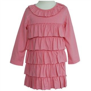 Coral Frill Dress by Candy Stripes (sizes 0 & 2)