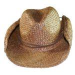 Skeanie Cowboy Hat - Brown