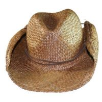 Skeanie Cowboy Hat - Brown