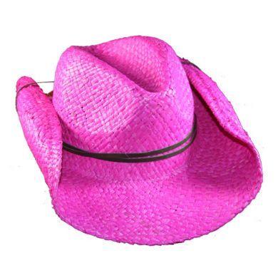 SKEANIE Cowboy Hat - Pink