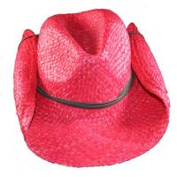 SKEANIE Cowboy Hat - Red