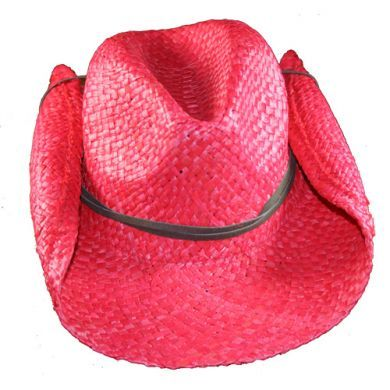 SKEANIE Cowboy Hat - Red
