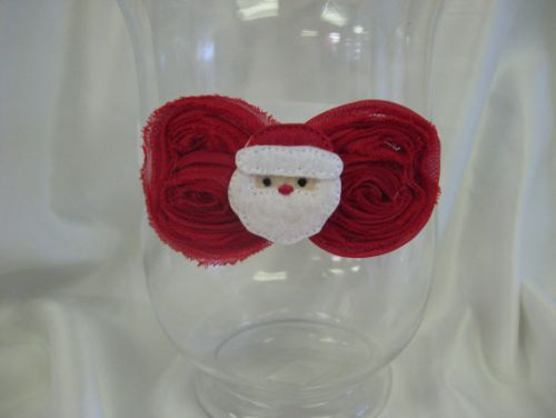 Christmas Santa Headband (only size 3-6mths left)