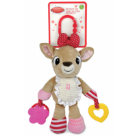 Clarice the Reindeer Activity Toy