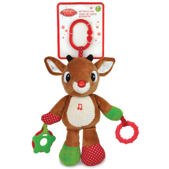 Rudolph the Reindeer Activity Toy