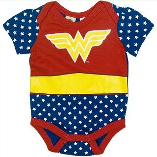 Baby Wonder Woman Bodysuit/costume S/Sleeve