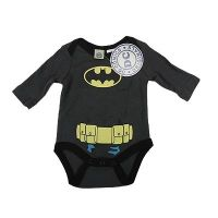 Batman  Baby Long Sleeve Bodysuit/Costume