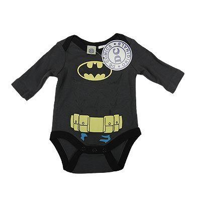 Batman  Baby Long Sleeve Bodysuit/Costume