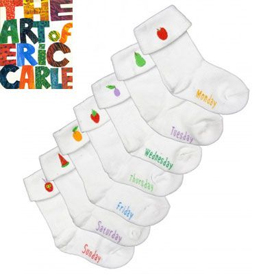 The Very Hungry Caterpillar Sock Set