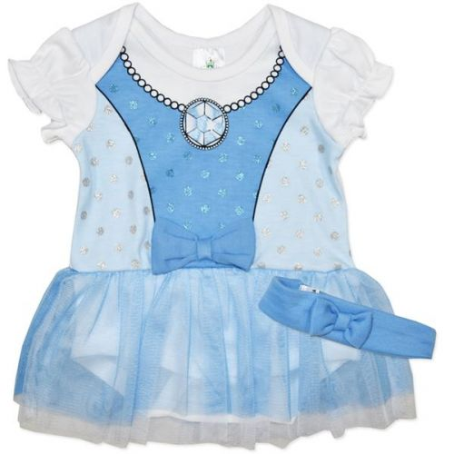 Frozen Baby Bodysuit Dress Romper Licensed Disney costume