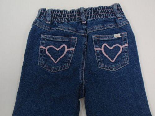 Miakat Jean Company Jeans - Plain Front/Heart on Back Pockets (Sizes 5 and 6)