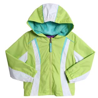 Lime Green All Weather Jacket/Coat (only size 4 left)