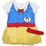 Snow White Baby Bodysuit Dress Romper Licensed Disney costume