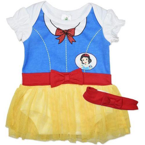 Snow White Baby Bodysuit Dress Romper Licensed Disney costume