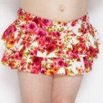 Cupid Girl Romance Frill Swim Brief Size 1 (Last one)