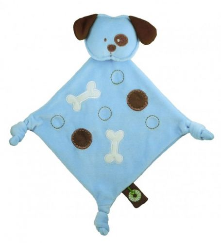 Organic Cotton Dandelion Doggy Comforter - Baby Blankie Soother