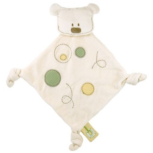 Organic Cotton Dandelion Bear Comforter - Baby Blankie Soother