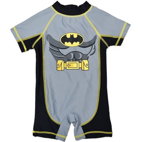 Batman One Piece Swimming Costume Rashie (only Size 00 & 1 left)