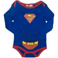 Superman  Baby Long Sleeve Bodysuit/Costume (only 0000 left)