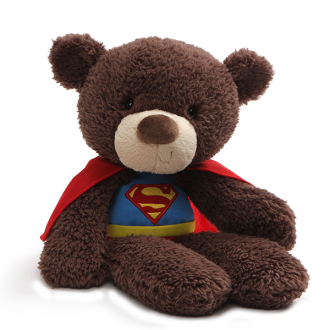 Fuzzy Bear Superman