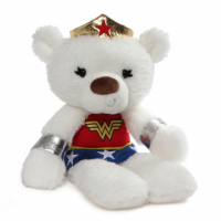 Wonder Woman Fuzzy Bear