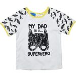 My Dad is a Super Hero - Licensed DC Comics Batman T-shirt