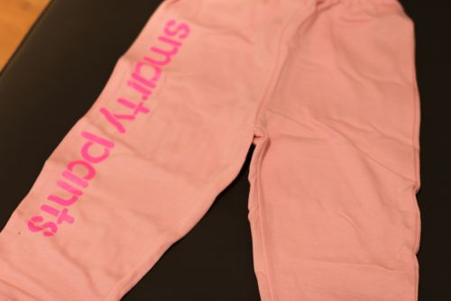 Smarty Pants - Pink (Sizes 3 to 7)