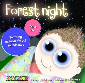 Dinosnores Sleepy Stories- Guided Relaxation - Forest Night (Baby Cd)
