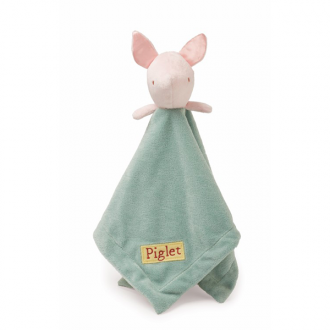 Winnie the Poo Piglet Baby Comforter Blankie