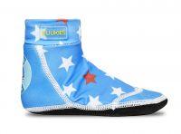 Duukies Beach Socks - Bastie (Blue Stars)